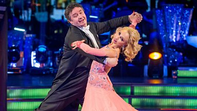 Image for Mark Benton & Iveta dance the Foxtrot to 'It's A Beautiful Day'