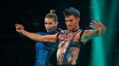 Image for Abbey Clancy & Aljaz dance the Paso Doble to 'You Got The Love'