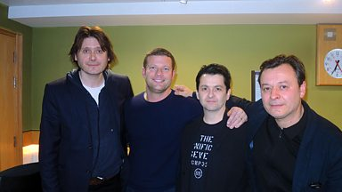 Image for The Manic Street Preachers play for Dermot