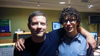 Image for Simon Amstell chats with Dermot
