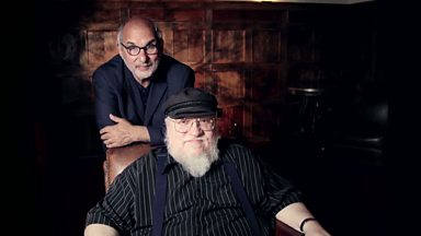 Image for Web Extra: Game of Thrones writer George RR Martin talks to Alan Yentob