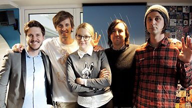 Image for Cut Copy live in session for Lauren Laverne