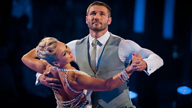 Image for Strictly's Ben Cohen and Kristina Rihanoff