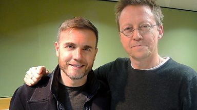 Image for Gary Barlow live in session for Simon Mayo