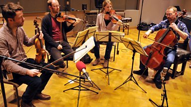 Image for The Edinburgh Quartet: Haydn's  'Allegro Spiritoso'
