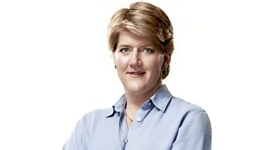 Image for Clare Balding: 'He was so full of paternal pride'