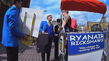Image for The Ryan Air rickshaw