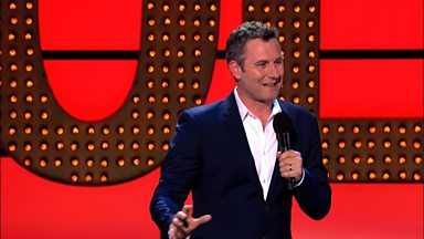 Image for Adam Hills on Starbucks