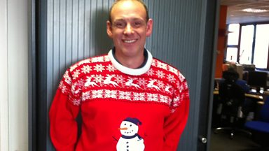 Image for Andy's Christmas jumper