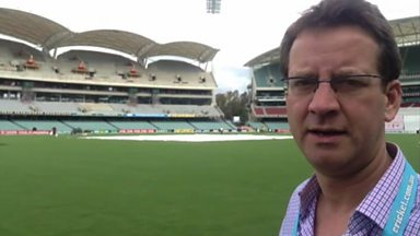 Image for Inside the boundary rope at Adelaide Oval