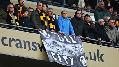 Image for Andy urges Hull fans to stage