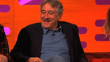 Image for Robert De Niro gives acting advice