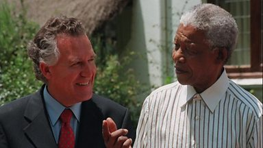 Image for Labour MP Peter Hain on Mandela and his oppressors