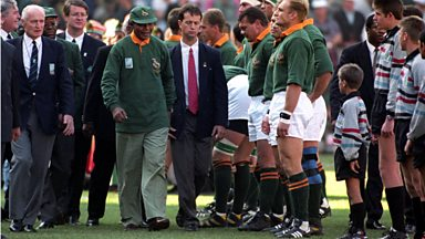 Image for Springboks' Mark Andrews on meeting Mandela