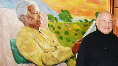 "Image for Nelson Mandela artist: ""You can't paint charisma"""