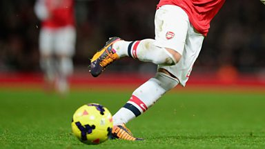 Image for Arsenal's Ozil scores first goal against Everton