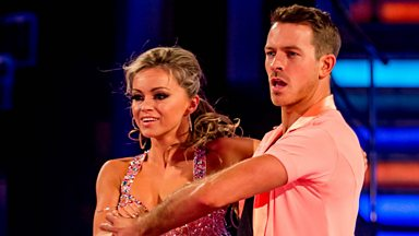 Image for Ashley Taylor Dawson & Ola dance the Salsa to 'Congo'