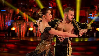 Image for Natalie Gumede and Artem dance the Paso Doble to 'El Gato Montes'