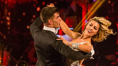 Image for Abbey Clancy & Aljaz dance the Viennese Waltz to 'Delilah'