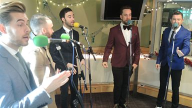 Image for The Overtones Live in Session