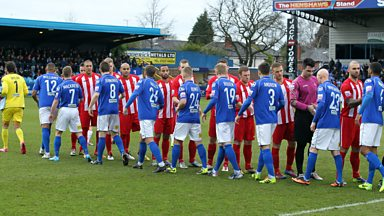 Image for SECOND ROUND: Macclesfield Town v Brackley Town