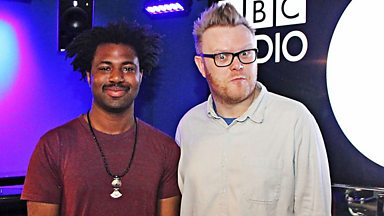 Image for Sampha in session for Huw Stephens