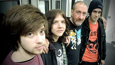Image for The Wytches live in session for Marc Riley