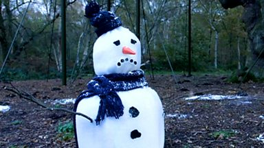 Image for BBC Radio Nottingham's Christmas Snowman film