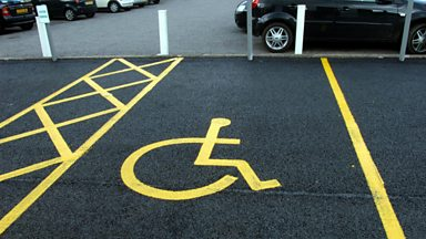 "Image for Blue Badges - ""Not all disabilities are visible."""