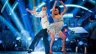 Image for Natalie Gumede and Artem Chigvintsev Salsa to 'Wanna Be Startin' Something'