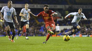 Image for Raheem Sterling scores 5th & final goal for Liverpool