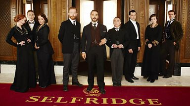 Image for Mr Selfridge - open for business