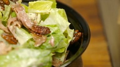 Image for Duck salad with blue cheese dressing