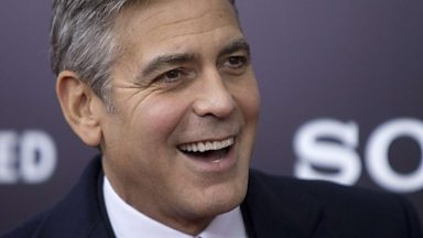 Image for George Clooney on The Monuments Men