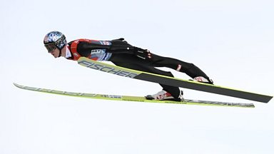 Image for Could women compete against men in ski jumping?