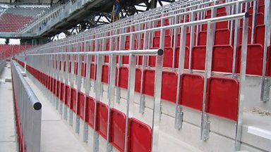 Image for 'Strong will' for football safe standing areas