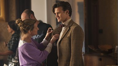 The Doctor, the Widow, and the Wardrobe: Behind the Scenes