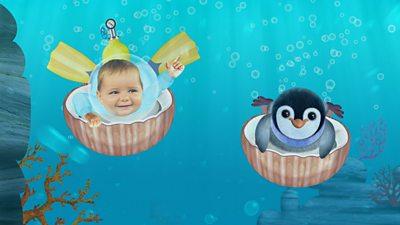 Baby Jake Loves Tummy Sliding