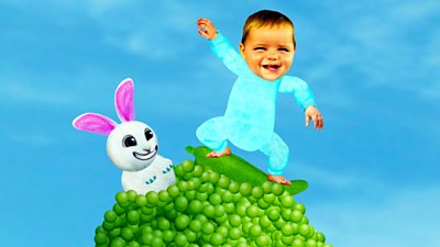 Baby Jake Loves Popping Peas