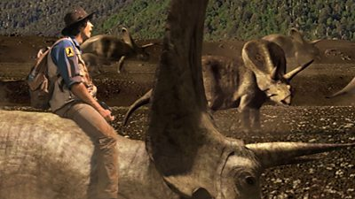 Triceratops and Horn