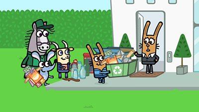 Robot Recycler