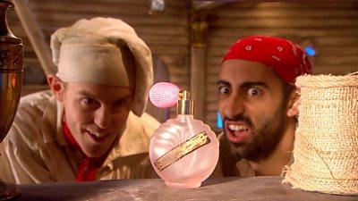 Pirate Perfume Pong