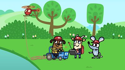 Giggly Park Rescue Squad