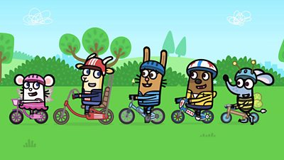 The Big, Big Bike Ride