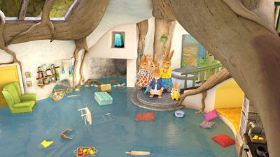 The Tale of the Flooded Burrow