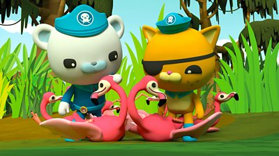 Octonauts and the Flamingos