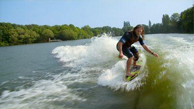 Human Skipping, Wake Surfing, Tea Bag Throwing