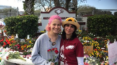 A teacher and a pupil at Marjory Stoneman Douglas High School gave people a focal point for their grief and curiosity.