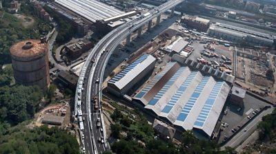 New bridge in Genoa