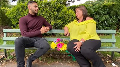 Usman and Sharon were connected forever after being caught up in the bombing's aftermath.